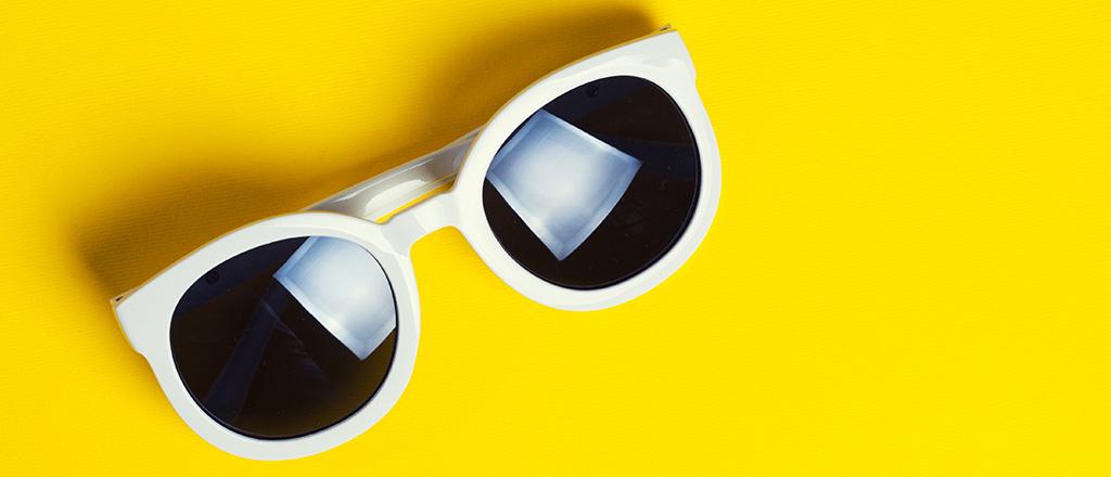 Óculos de sol tem validade