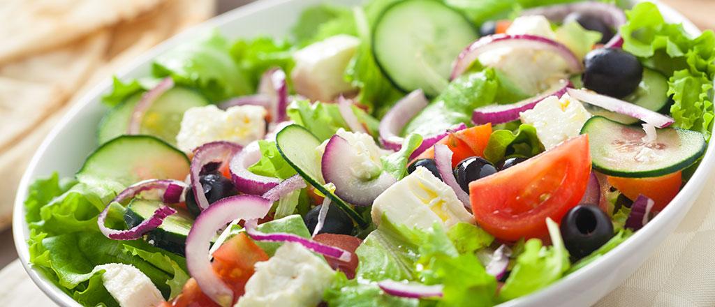 A estratégia da salada