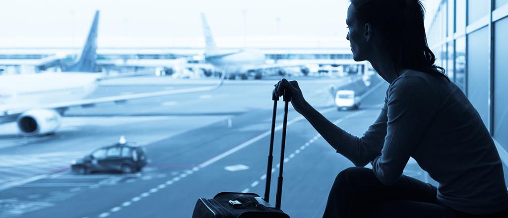 A bagagem do jet lag