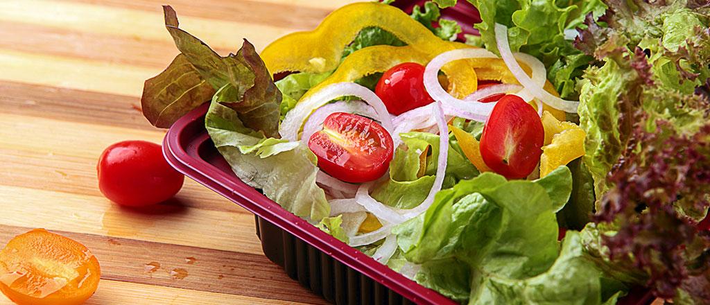 Salada em alta conta