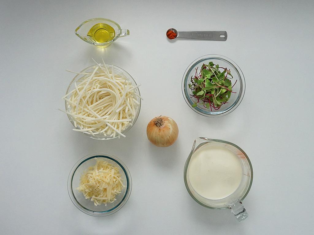 espaguete-de-pupunha-ingredientes