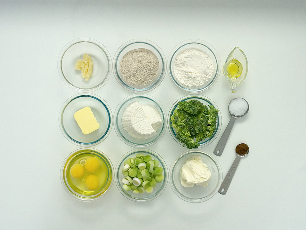 torta-de-centeio-com-brocolis-ingredientes
