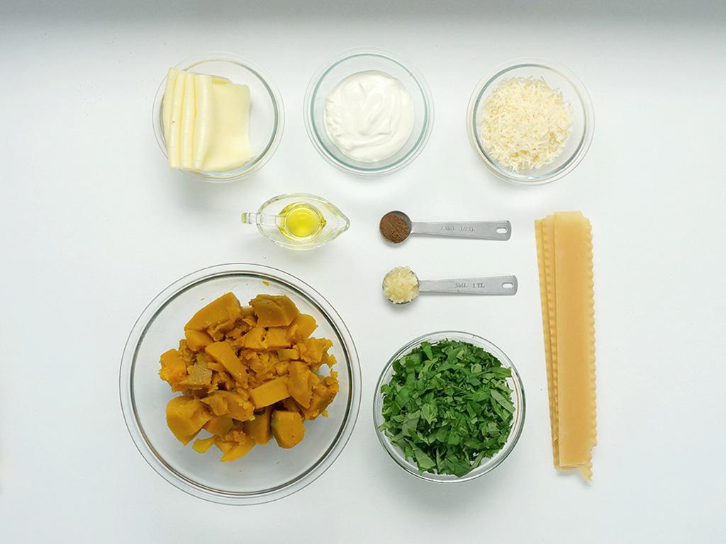 lasanha-de-abobora-e-espinafre-ingredientes