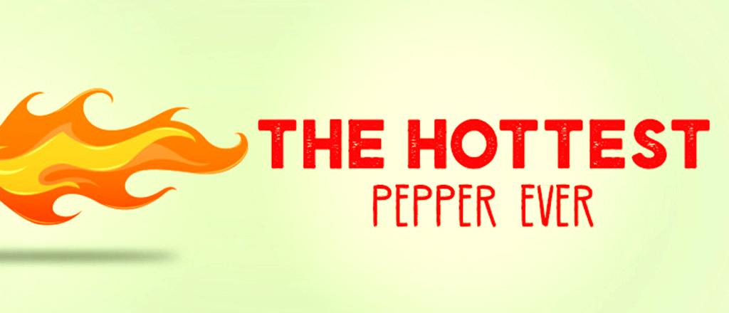 A pimenta mais quente do mundo